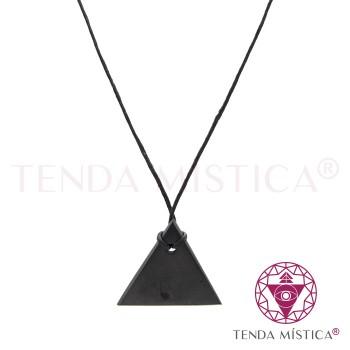 Colar Shungite - Triângulo