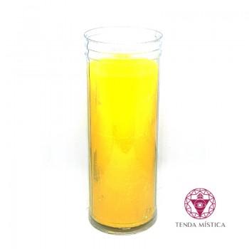 Vela copo - amarela